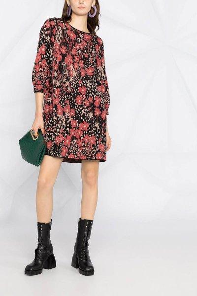 Vestido TWINSET De Punto Con Estampado Floral 202TP3401