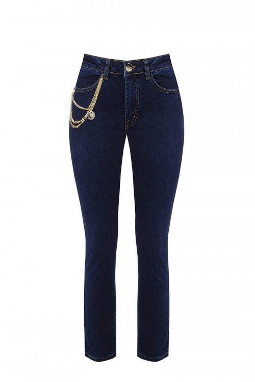 Jeans RINASCIMENTO Regular Fit Con Cadenas CFC0099711003
