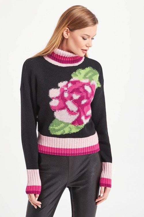 Jersey TWINSET Con Bordado Floral 202TP3390