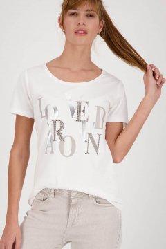 Camiseta MONARI Mezcla Algodón Strass 405920