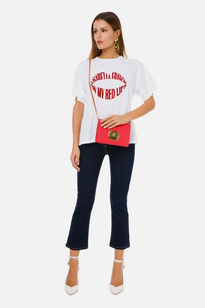 Camiseta ELISABETTA FRANCHI Red Lips MA26N11E2