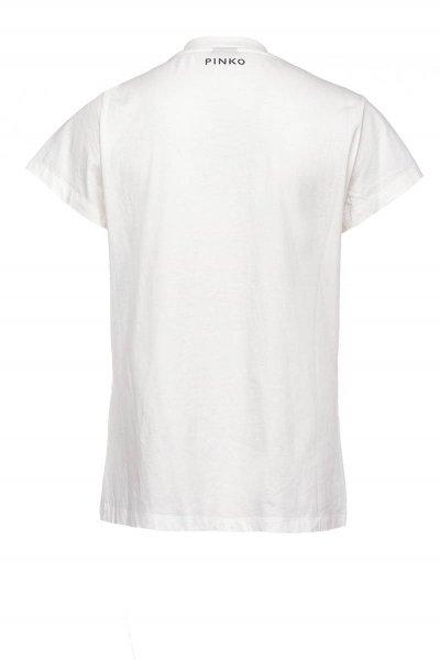 Camiseta PINKO Adorno Joya Efecto Roto IG15NU Y6YX