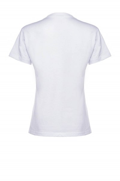 Camiseta PINKO Effimero Estampado Strass IG15YWY5BD