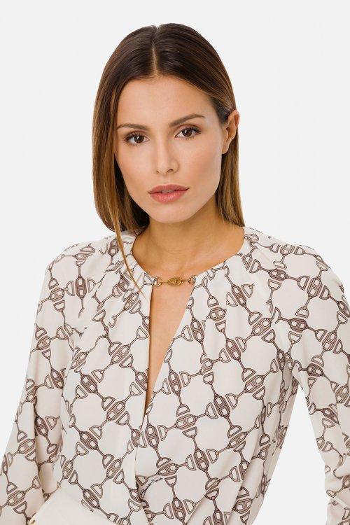 Camisa Body ELISABETTA FRANCHI Cadenas CB01611E2