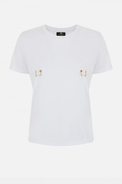 Camiseta ELISABETTA FRANCHI Anillas MA18N11E2