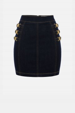 Minifalda ELISABETTA FRANCHI Denim GJ13S11E2