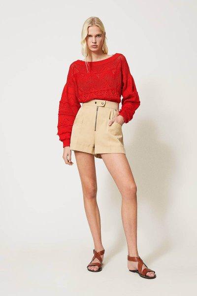 Shorts TWINSET De Talle Alto 211TT2073
