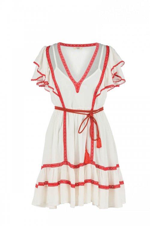 Vestido TWINSET Combinado Vivos 211TT2602