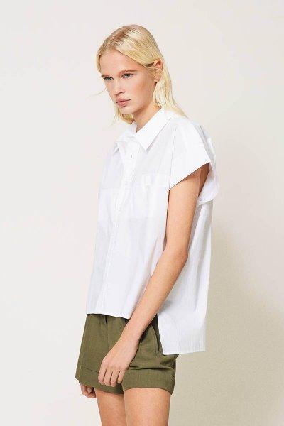 Camisa TWINSET De Popelina Oversize 211TT245E