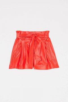 Shorts TWINSET Encerados Con Cinturón 211TT2026