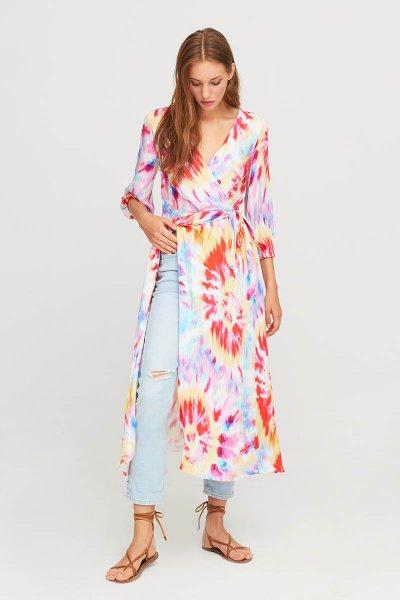 Vestido ALDO MARTINS Bar Estampado Multicolor 8706