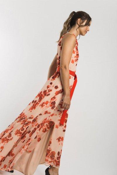 Vestido ALBA CONDE Halter Floral 3402-727-55