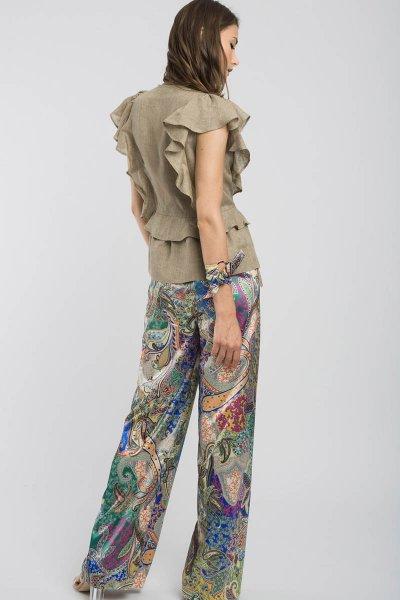 Pantalón ALBA CONDE Multicolor 1520-107-81