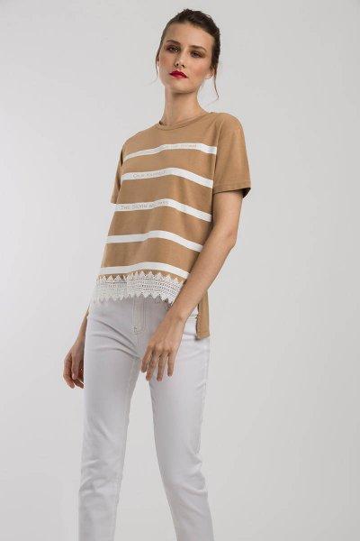 Camiseta ALBA CONDE Camel 1807-216-63