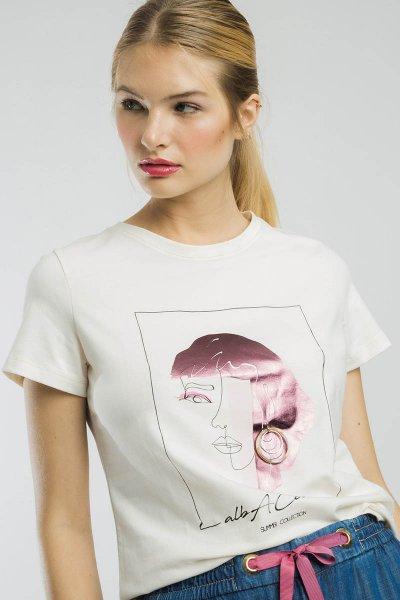 Camiseta ALBA CONDE Estampado Mujer 2810-561-11