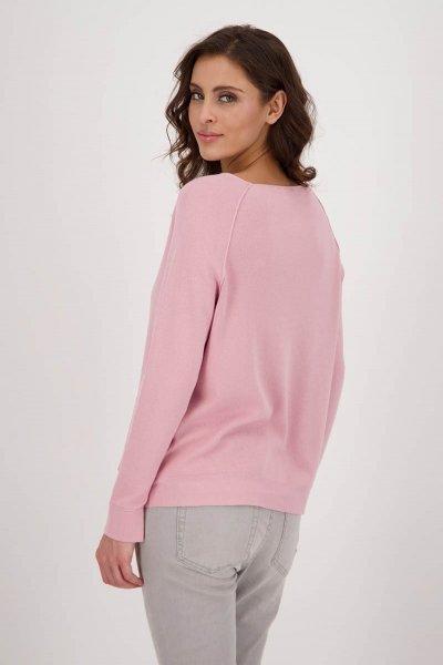 Jersey MONARI Rosa Con Strass 406205