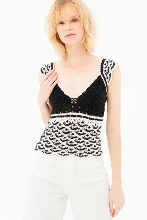 Top FRACOMINA Crochet FR21ST4002K400N9