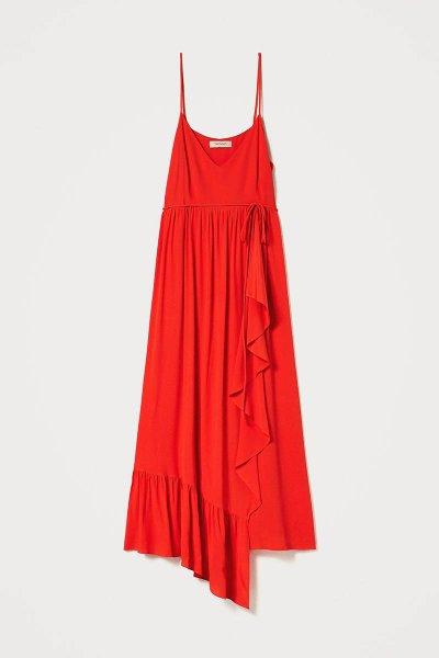 Vestido TWINSET Largo Mezcla De Seda 211TT2142