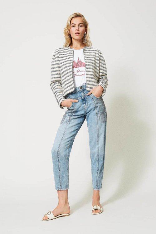 Jeans TWINSET Con Flecos De Bisel 211TT2382