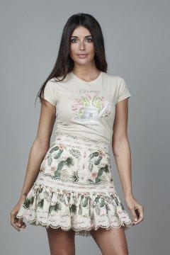 Camiseta CARMEN HORNEROS Blooming CHV2134