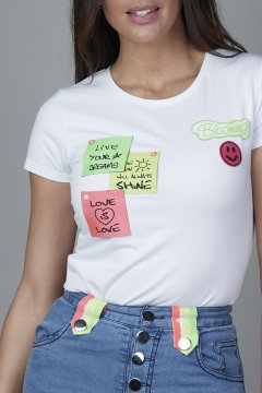 Camiseta CARMEN HORNEROS Pos-it CHV2135