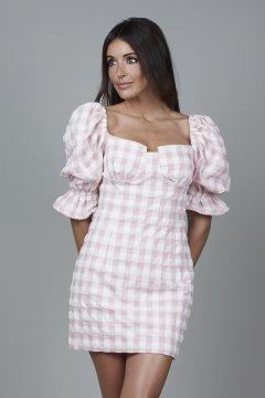 Vestido CARMEN HORNEROS Cuadros Vichy CHV2120