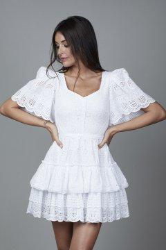 Vestido CARMEN HORNEROS Brocado Olas CHV2115