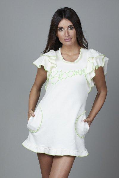 Vestido CARMEN HORNEROS Felpa Blooming CHV2125