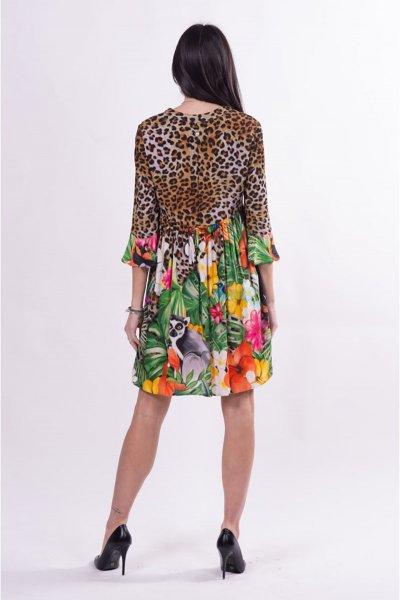 Vestido FRACOMINA Multi Print FR21SD1008W422N4