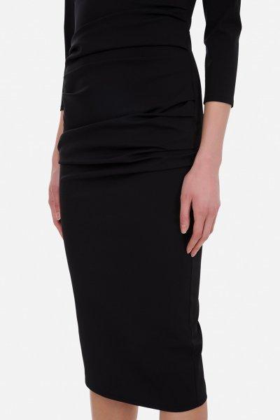 Vestido ELISABETTA FRANCHI Tubo Detalle Enganche AB04711E2