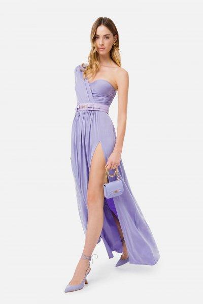Vestido ELISABETTA FRANCHI Largo Hombro Descubierto AB02311E2