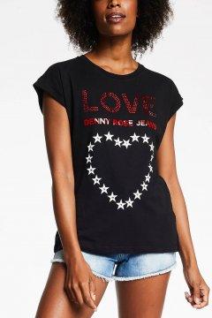 Camiseta DENNY ROSE Corazón De Estrellas 111ND64024