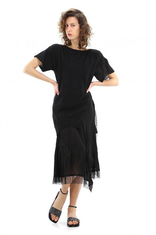 Vestido TWINSET Mezcla De Lino 211TT3151