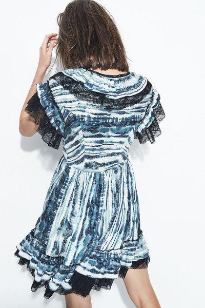 Vestido HIGHLY PREPPY Viscosa Tie Dye 7854