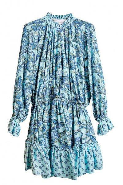 Vestido SPACE FLAMINGO Cashmere Azul SP-0121-121