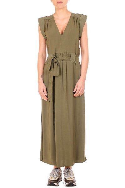 Vestido TWINSET Largo De Viscosa 211TT2160