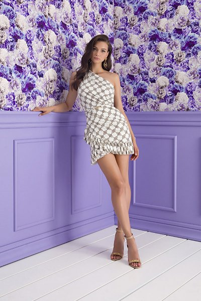 Vestido ELISABETTA FRANCHI Print Ganchos AB13811E2