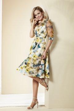 Vestido NATI JIMENEZ Vuelo Estampado Floral I21.205