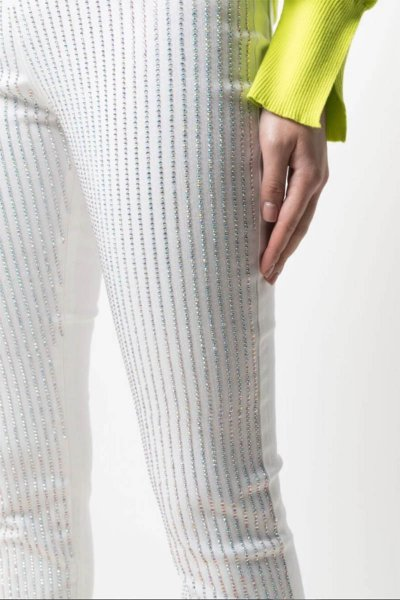 Jeans TWINSET Skinny Con Cristales 211TT232A