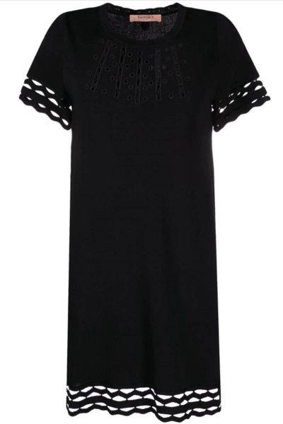 Vestido TWINSET Recto Perforado 211TT3171