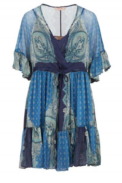 Vestido TWINSET Estampado Paisley 211TT2212