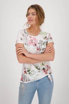 Camiseta MONARI Estampado Flores 406365