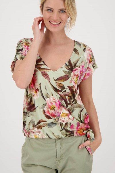 Camiseta MONARI Verde Flores 406248