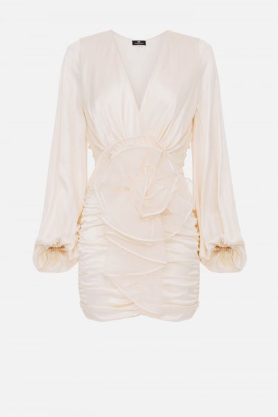 Vestido ELISABETTA FRANCHI Maxi Flor AB15413E2