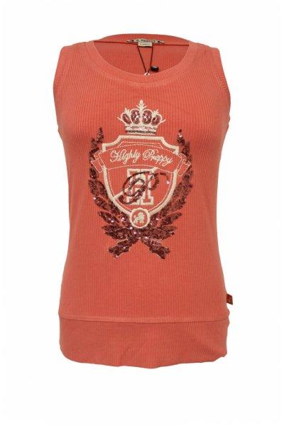 Camiseta HIGHLY PREPPY Tirantes Escudo 9778