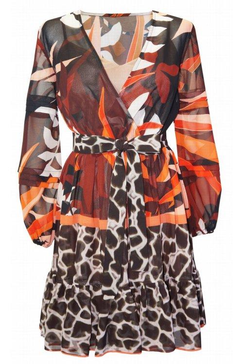 Vestido ARGGIDO Estampado Pañuelo Tropical 44616