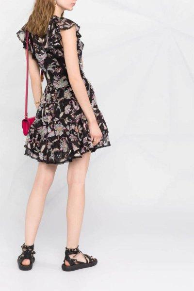Vestido TWINSET De Muselina Con Estampado De Flores 211TT2561