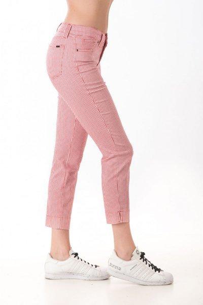 Pantalón Vichy Rojo Sabrina P1426 Q5013