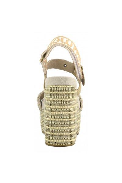 Sandalias MOU High Heel Logo Back Strap MU.SW281002C CUTSIL