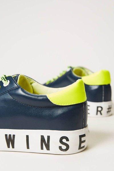 Sneaker TWINSET Con Logotipo 202LIPZCC